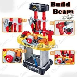 SMALL ENGINEER BUILD BEAM Play Set