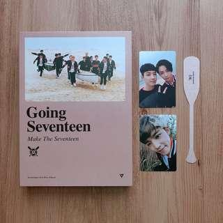 SEVENTEEN 3RD MINI ALBUM - GOING SEVENTEEN (Make The Seventeen ver.)