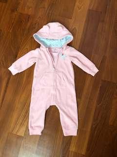 Baby Fleece Jumpsuit (9M)