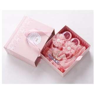 🚚 Little Girl Headband and Shoe Gift Set (NGS 004)