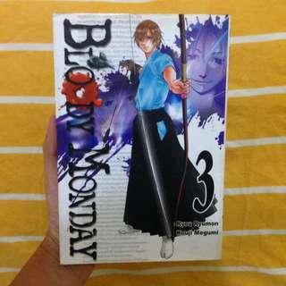 Bloody Monday Vol. 3 by Ryou Ryumon x Kouji Megumi