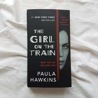 Mystery/Thriller Book: The Girl on the Train by Paula Hawkins