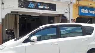 tinted kereta (5 tahun warranty)