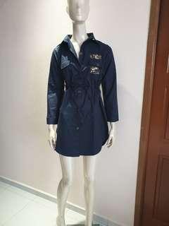 Navy dress( purpur)