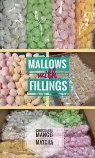 marshmallow with fillings