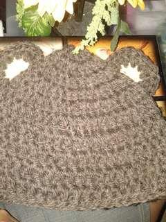 crochet bonnet/hat