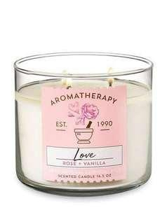 ⭐️2 for $40⭐️ Bath and Body Works Aromatherapy Large 3-Wick Candle BRAND NEW AUTHENTIC 411g