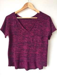 VNeck Crop Top