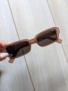 Quay sunglasses rectangle frames