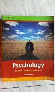 PSYCHOLOGY 3RD EDITION by Ciccarelli & White