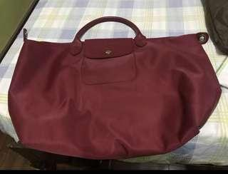 Red Long Champ Neo Bag