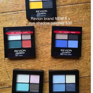 Revlon eye shadow palettes bulk buy brand new colorstay  20 colours