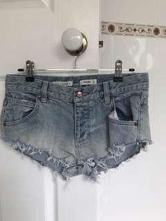 Wrangler S6 denim shorts