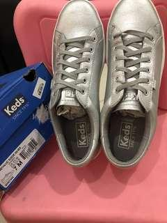 Keds Ace Metalic Suede Silver size 37,5