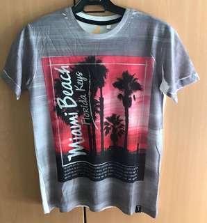Miami beach print shirt