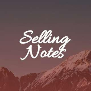 Selling Notes