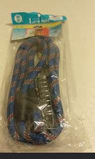 🚚 🐶【大狗彈簧鐵鏈鉤】🐶(藍)