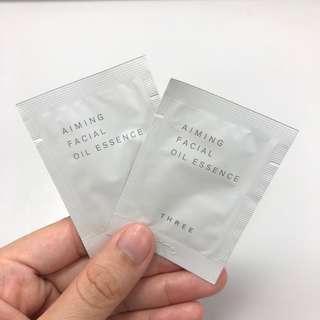 [全場最平!] 全新 原價$1,125/28ml Three Aiming Facial Oil Essence 極致活顏全效精華油 1ml sample 試用裝