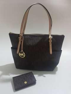 Michael Kors bag & Micheal Kors wallet