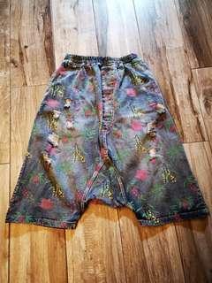 73cm牛仔胯襠褲寬鬆全新