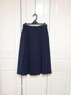 Vintage Pleated Skirt (High Waisted)