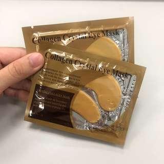 [全場最平!] Collagen Crystal Eye Mask 膠原蛋白去紋水晶眼膜 12g sample 試用裝