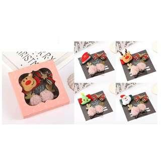 🚚 Christmas Hair Accessories Gift Box 2 (NGS 006)