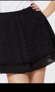 全新黑色短裙