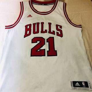 NBA Jimmy Butler Chicago Bulls Jersey Adidas L size