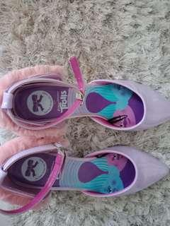 SEPATU HEELS UNGU TROLLS TLTSN Trolls Edition Fur Heels Shoes (The Little Things She Needs)