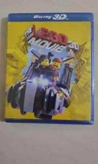 The Lego Movie 3D - Bluray - New and sealed