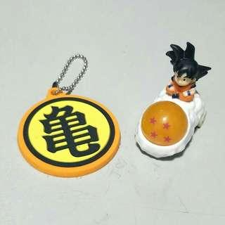 Dragon Ball Kame Keychain and Toy