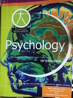 Psychology( developed specifically for the IB diploma) by Alan Law
