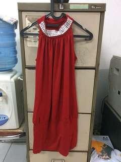 Red Jewels Dress