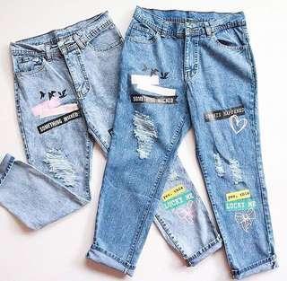 Lucky Boyfriend Jeans