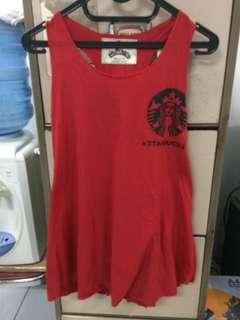 Red Starbucks Tee