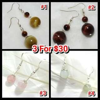 😱3 For $30 Earrings