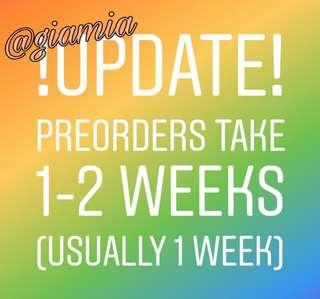 🚚 FASTEST PREORDER ON CAROUSELL