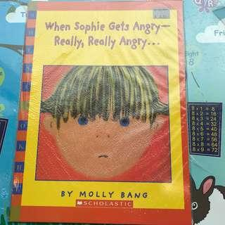 When Sophie Gets Angry - Really, Really Angry... by Molly Bang