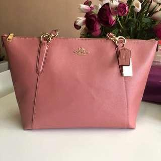 Coach Ava Tote in Vintage Pink