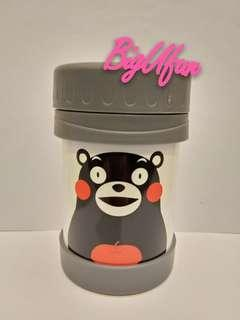 《e-zone》1057期雜誌別注版「Kumamon 保暖食物壺」連雜誌(灰白色款)
