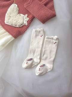 Baby Rabbit Mid length Socks