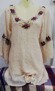 Bohemian top/dress