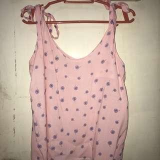 Pink ribbon straps