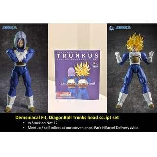 (In Stock) Demoniacal Fit, Dragon ball Trunks head sculpt set