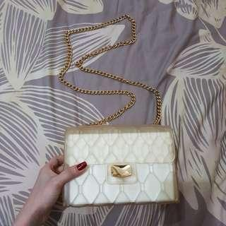 jelly sling bag (GOLD)