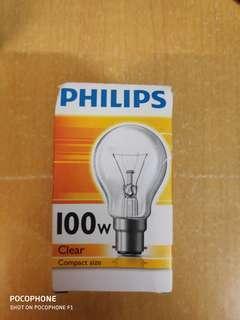 Philips 100w 白熾燈 Incandescent light bulb