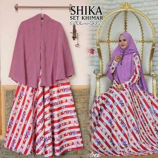 Jubah and khimar set