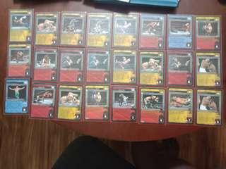 WWE Raw deal (rare cards) for sale