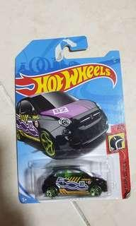 Hotwheels fiat 500